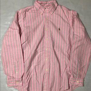 Ralph Lauren Button Up T-shirt Longsleeve Large